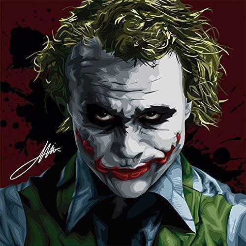 com pop art movie quotes joker dark knight canvas