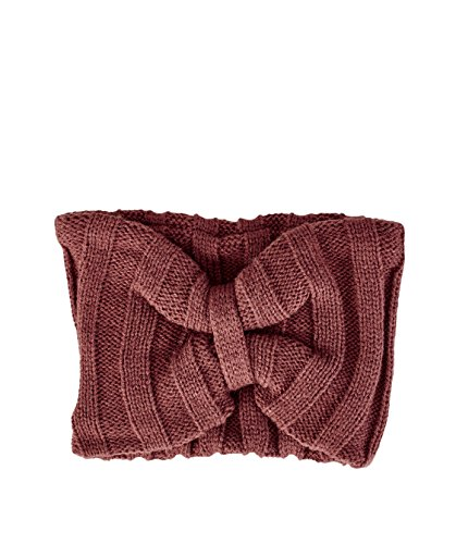 San Diego Hat Company Women's Oversized Knit Headband, Brown, OS