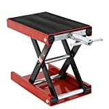 VIVOHOME Wide Deck Scissor Lift Jack ATV Motorcycle Dirt Bike Scooter Crank Stand 1100Lb