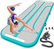 Gymnastics Inflatable Air Tumbling Mat - 13 Ft Outdoor / Home Indoor Gymnastics Mat Air Track Tumbling Mat - F