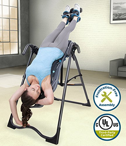 Teeter FitSpine X Inversion Table, 2019 Model, Back Pain Relief Kit, FDA-Registered (X)