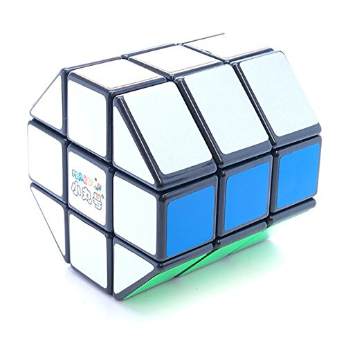 3x3x3 Maru Octagonal Prism Barrel Cube Black Shape Mod Twisty Puzzle - Shapes Octagonal