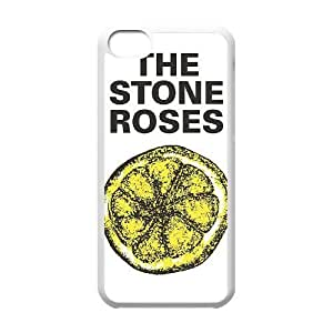 iphone5c case(TPU), stone roses lemon Cell phone case White for iphone5c - HHKL3335942