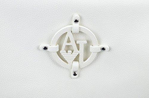 Armani Jeans | Borsa | Sacca Tracolla Regolabile Logo Bianco P-E 15