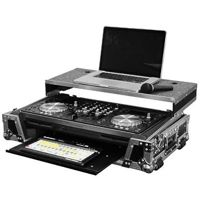 Odyssey Innovative Designs Flight Zone Pioneer XDJ-R1 DJ Controller Glide Style Case with Bottom GT Glide Tray & Wheels