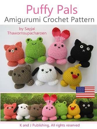 Simple Amigurumi Doll : Amazon.com: Puffy Pals Amigurumi Crochet Pattern (Easy ...