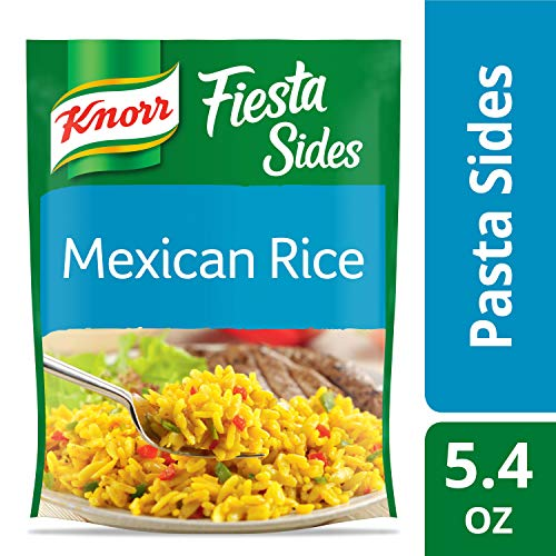 Knorr Fiesta Side Dish, Mexican Rice, 5.4 oz (Best Mexican Rice Mix)