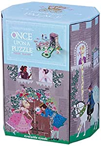 Crocodile Creek Princess Palace Once Upon a Puzzle - 4 Years & Above