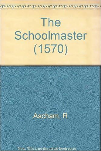 THE SCHOOLMASTER ASCHAM EBOOK DOWNLOAD