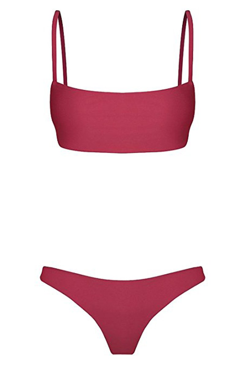 733fcccd84 ROVLET 2018 Sexy Push Up Padded Brazilian Bikini Set Swimwear Swimsuit  Beach Suit Bathing Suits