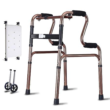 FKDErollator Ayuda de Movilidad para Caminar Plegable de ...