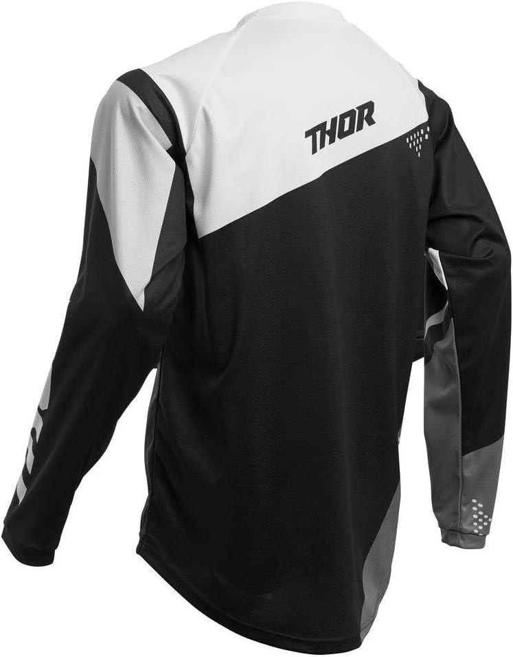 Thor MX Sector Blade Kinder Motocross Jersey 2020 schwarz weiss