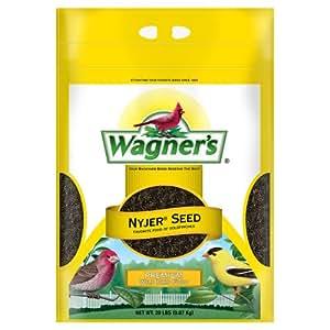 Wagner's 62053 Nyjer Seed Bird Food, 20-Pound Bag