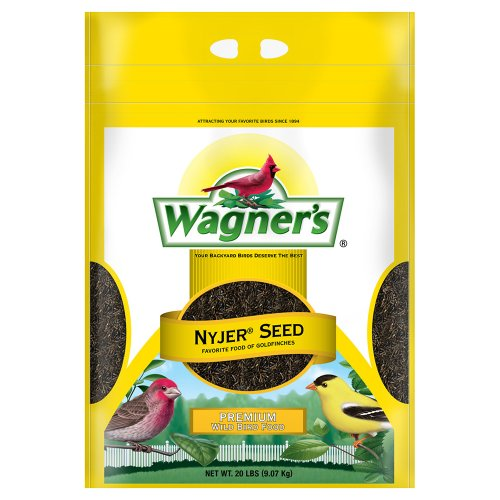 Bird Seed Bag - Wagner's 62053 Nyjer Seed Bird Food, 20-Pound Bag