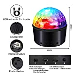 Bluetooth Disco Ball Lights,SOLMORE 9 Colors Party