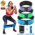 Booty Resistance Bands for Legs and Booty Bands Home Workout Bands Hip Circle Exercise Band Perfect for Squats Building Heavy Training Band Beachbody Resistance Loops Set of 3 for Women and Men in Gym