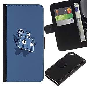 Stuss Case / Funda Carcasa PU de Cuero - P0kemon - Apple Iphone 6