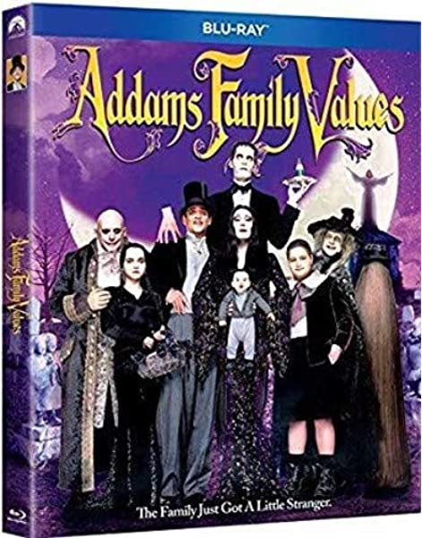 Amazon Com Addams Family Values Blu Ray Joan Cusack Anjelica Huston Raul Julia Christopher Lloyd Christina Ricci Barry Sonnenfeld Movies Tv