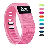 Fitness Tracker,Teslasz Bluetooth 4.0 Sleep Monitor Calorie Counter Pedometer Sport Activity Tracker for Android and IOS Smart Phone (Pink)
