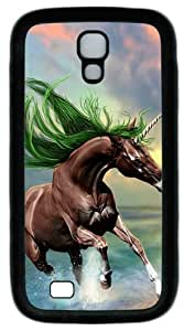 Cool Painting Samsung Galaxy I9500 Case, Samsung Galaxy I9500 Cases -Young Horse PC Rubber Soft Case Back Cover for Samsung Galaxy S4/I9500