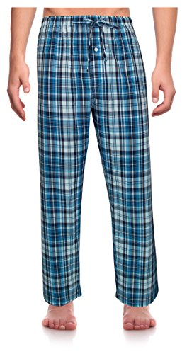 Classical Cotton - RK Classical Sleepwear Men's Woven Pajama Pants, Size Medium