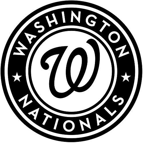 - Washington Nationals MLB Interior Decoration Poster Major League Baseball Club Vinyl Wall Logo Emblem Sticker Sporting Team Symbol Fans Decals Sports Housewares Art Design Athletic Removable Mural