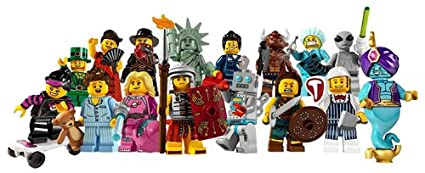 Lego Minifigures Series 6 - Complete Set of 16