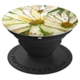Daisies Watercolor and Ink - PopSockets Grip and Stand for Phones and Tablets
