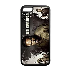 Drop ship customs Hot TV The Walking Dead Protective Design Cover Durable case for Cheap ipod touch 4 touch 4 100% TPU black Case Custom Shop