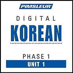 Korean Phase 1, Unit 01