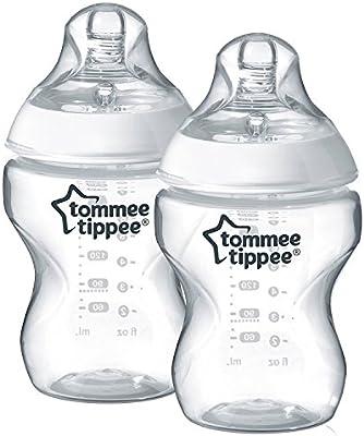 Amazon.com: 2 Biberones 260 ml sans bisphénol A Tommee ...