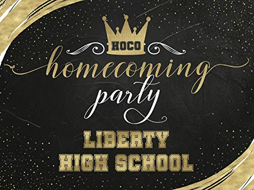 Homecoming Party, Back To School Banner, School Homecoming Poster, Homecoming Dance, High School Dance, Homecoming Party Theme, Homecoming 2019, Party Supply, Size 48x36, 48x24, 36x24, 24x18