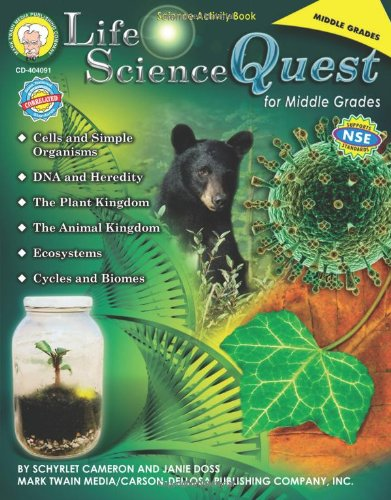 Amazon.com: Life Science Quest for Middle Grades (9781580374507 ...