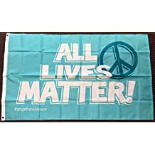 3x5 All Lives Matter Peace Polyester Flag Stop the Violence Banner Pennant New
