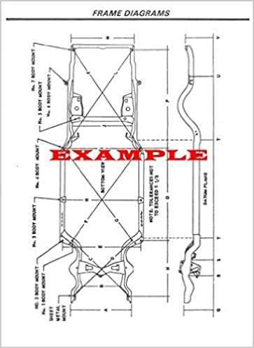 2014 TOYOTA TACOMA ALL BODIES FRAME DIMENSIONS DIAGRAMS: Collision ...