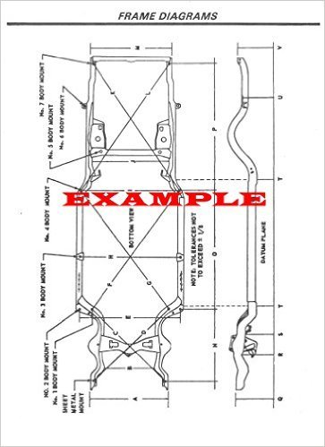 2011 TOYOTA VENZA LAMINATED FRAME DIMENSIONS DIAGRAM …