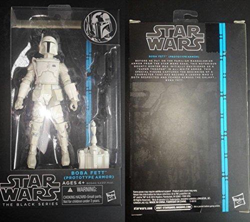 New In Box Star Wars Black Series Boba Fett Prototype Armor Action Figure