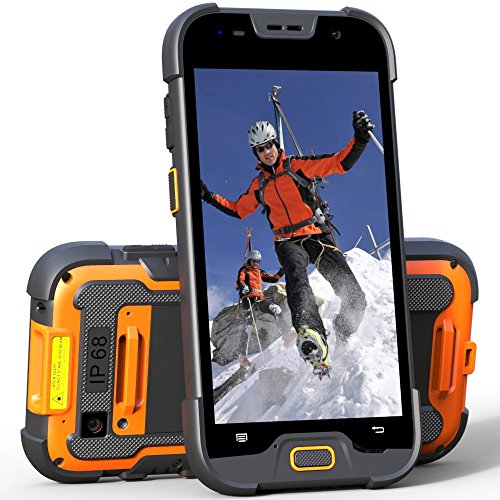 5 inch 4G LTE rugged smartphone mobile computer with 2+16GB memory & 5+13M pixels camera