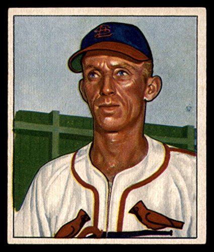 1950 Bowman #126 Al Brazle Cardinals MLB Baseball Card G Good