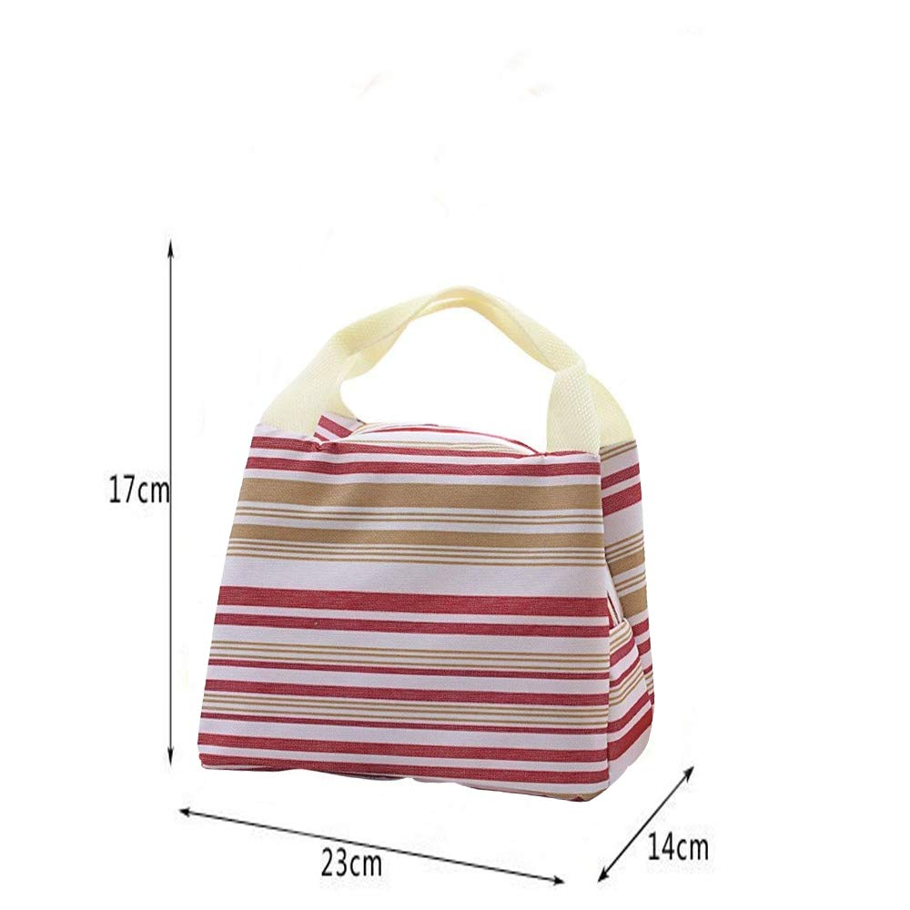 OENEW Lunch Bag for Men Women,Durable Insulated Lunch Bag to Keep Fresh Food for Work/School/Picnic/Beach (Grey)