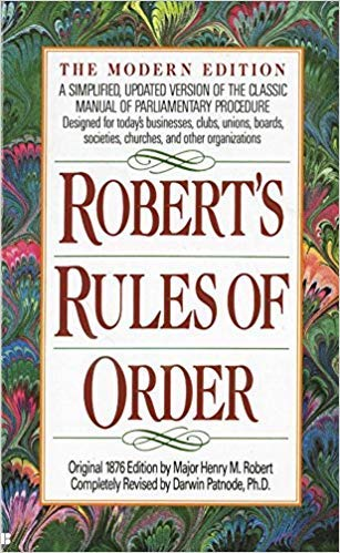 [042513928X] [9780425139288] Robert's Rules of Order: A Simplified, Updated Version of the Classic Manual of Parliamentary Procedure-Paperback