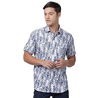 Zeal Men's Regular Fit Casual Shirt