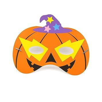 5 Piezas De Máscaras De Animales De Halloween Para Calabazas Tema De Fiesta En El Bosque Para Los Niños Disfraces De Cumpleaños: Amazon.es: Hogar