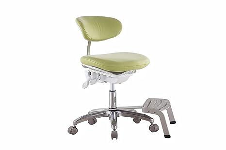 Zgood dinamica sgabello in pelle pu tessuto mobile sedia design
