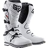 Fox Racing F3R Race Boots - 8/White