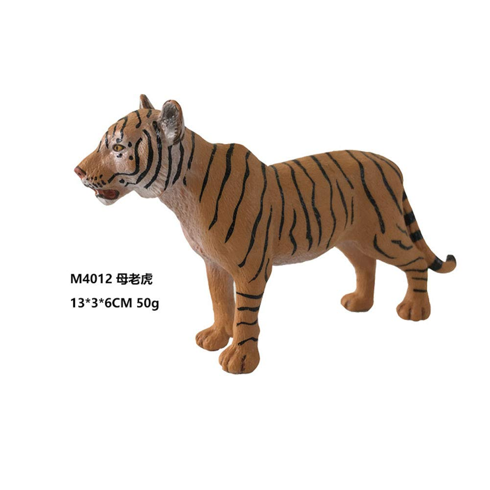 SDGDFXCHN Tigre salvaje realista modelo animal figura figurilla ni/ños juguete educativo
