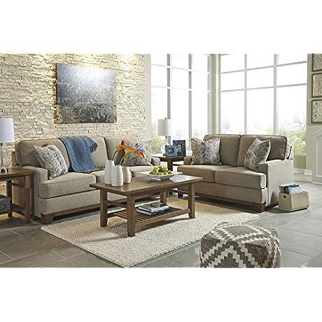Ashley Hillsway Sofa In Pebble