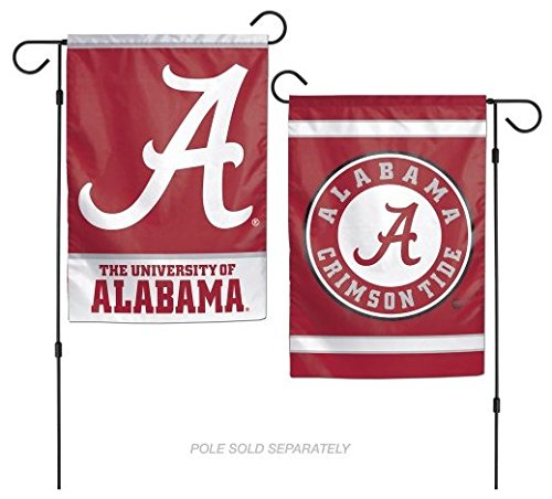 "WinCraft Alabama Crimson Tide 12""x18"" Garden Flag"