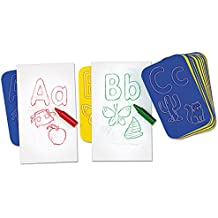 Lakeshore Learn-The-Alphabet Rubbing Plates