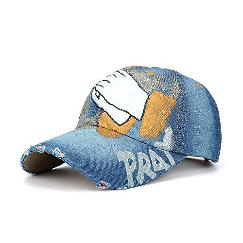 ALWLJ nouveau printemps et l'été Hand Clapping Baseball Cap Hat Casquette chapeau de soleil en plein air
